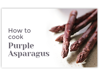 How to Cook Purple Asparagus